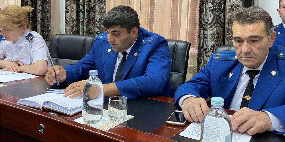 Состоялось заседание коллегии Генеральной прокуратуры Республики Южная Осетия, посвященное итогам работы органов прокуратуры в первом полугодии 2020 г. и задачам по повышению эффективности прокурорской деятельности на второе полугодие 2020 г.
