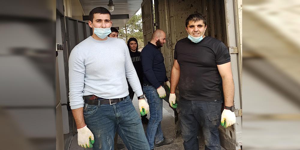 Работники органов прокуратуры Республики Южная Осетия откликнулись на призыв республиканской соматической больницы Цхинвала  о помощи волонтеров