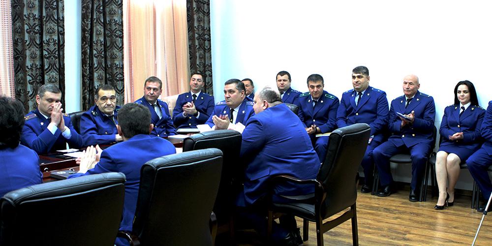 В Генеральной прокуратуре Республики Южная Осетия состоялась церемония награждения наиболее отличившихся работников прокуратуры