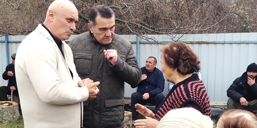 Прокурор Знаурского района принял участие во встрече с жителями Балтинской сельской администрации